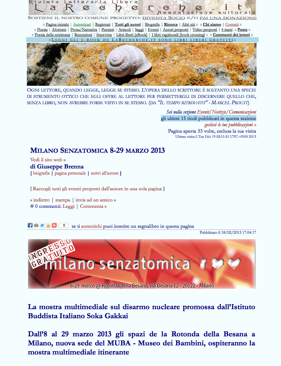 2013-02-19 La Recherche