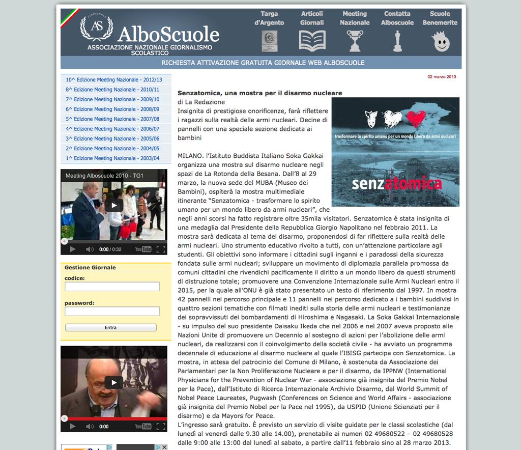 2013-03-02 Albo Scuole