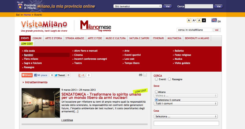 2013-03-07 Visita Milano | La Provincia di Milano