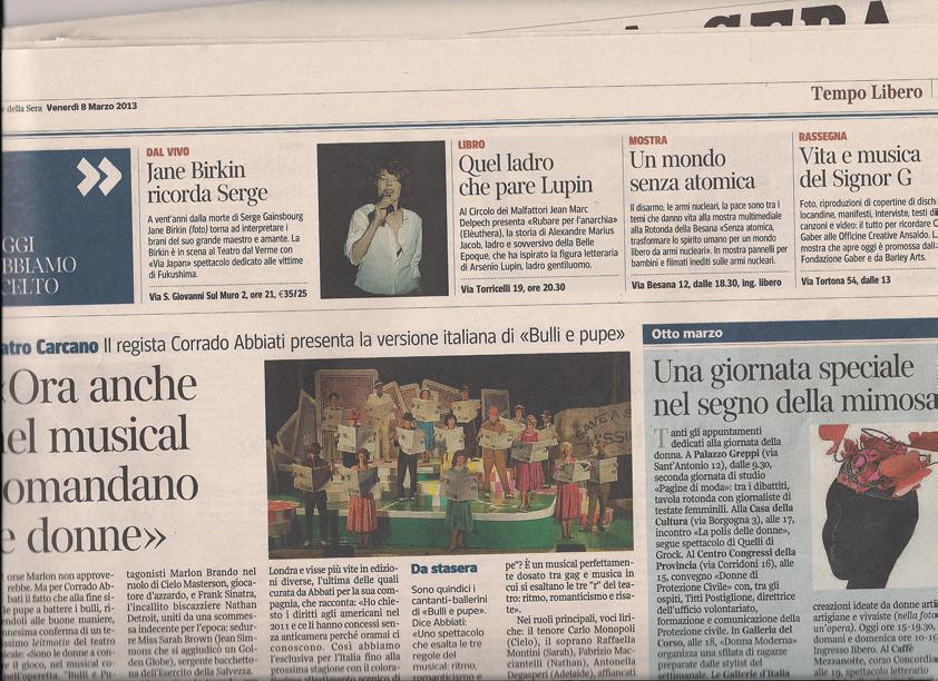 2013-03-08 Corriere Della Sera