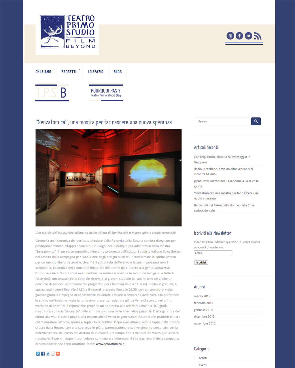 2013-03-12 Teatro Primo Studio