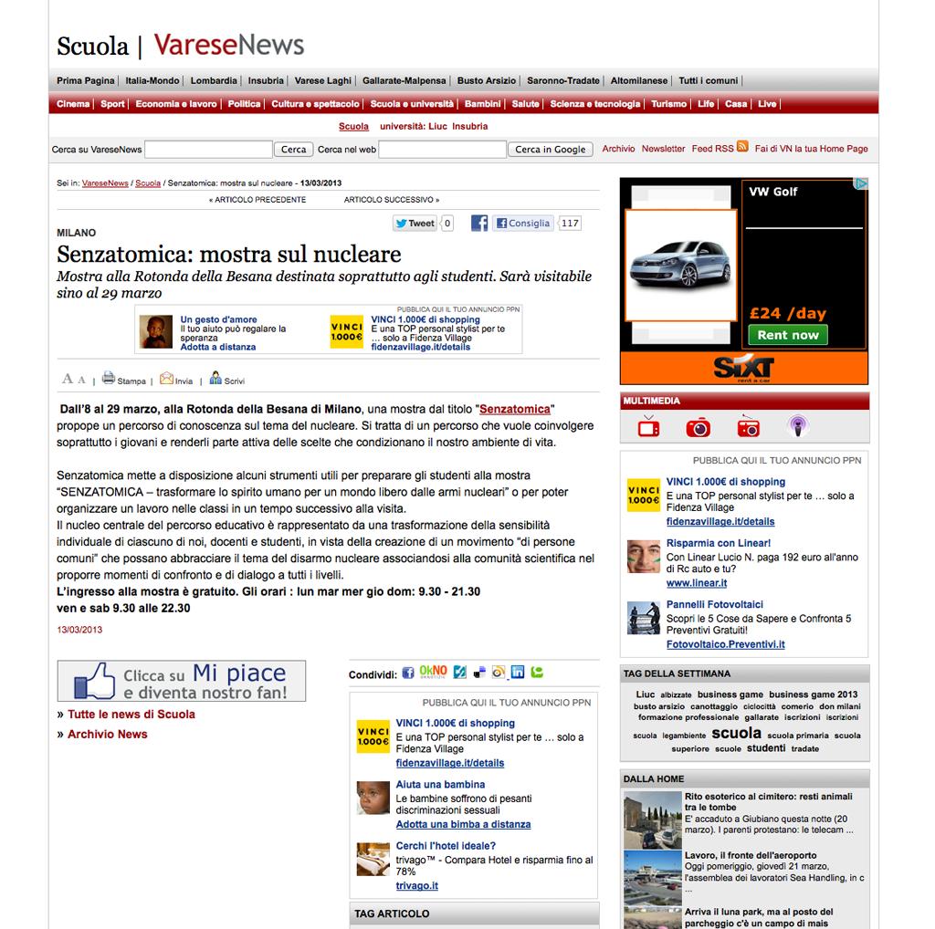 2013-03-13 Varese News