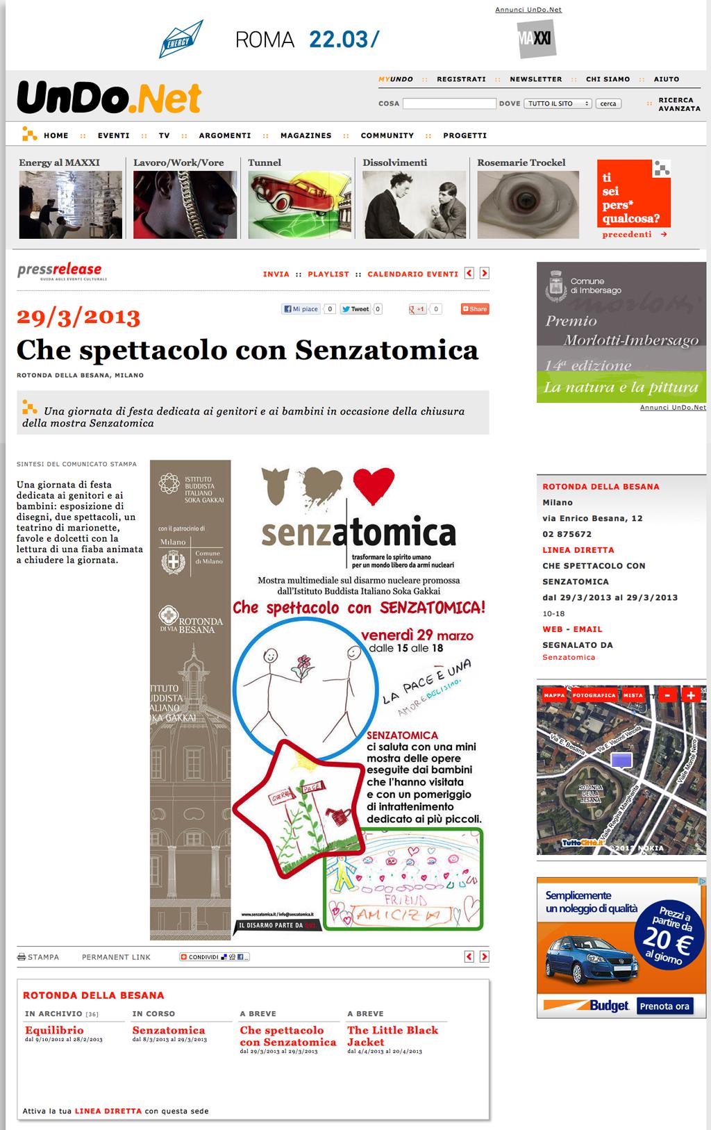 2013-03-28 Undo.Net | Che Spettacolo con Senzatomica