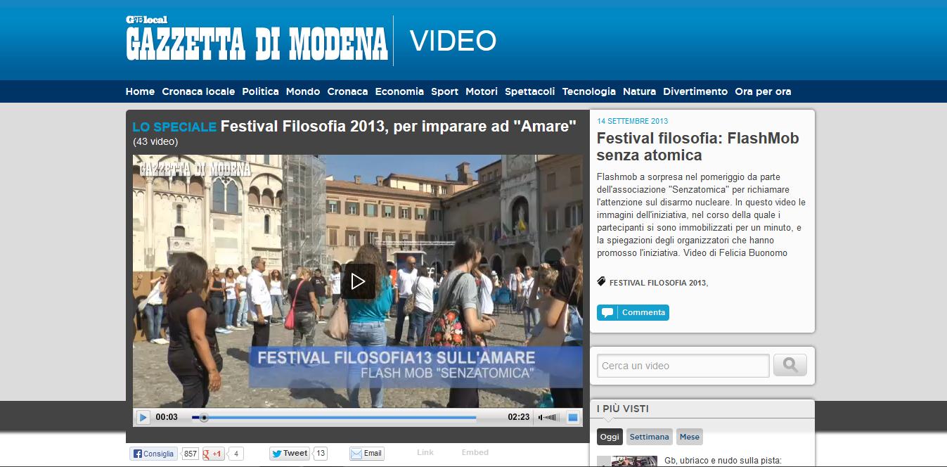 2013-09-14 Gazzetta di Modena