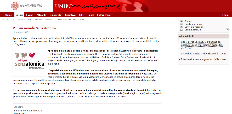 2013-10-11 Unibo Magazine