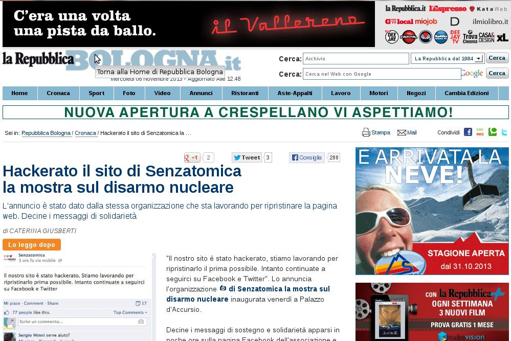 2013-10-14 La Repubblica Bologna