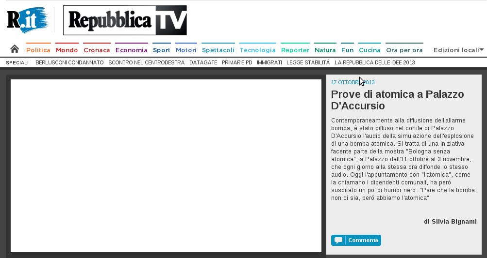 2013-10-17 La Repubblica Bologna