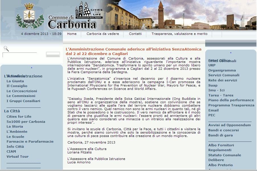 2013-11-27 Comune di Carbonia
