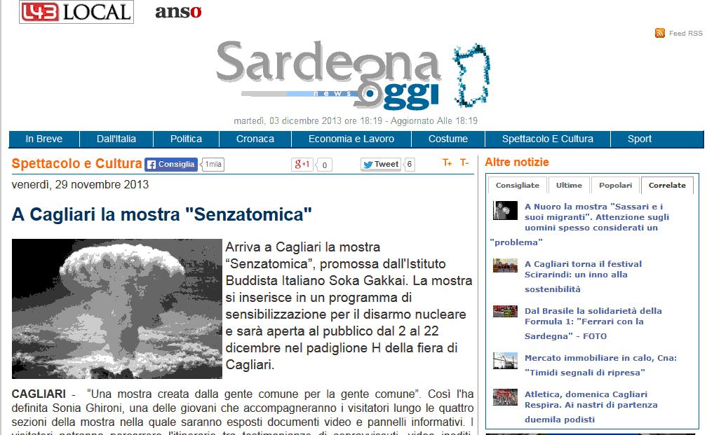 2013-11-29 Sardegna Oggi