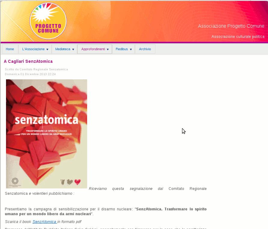2013-12-01 Progetto Comune