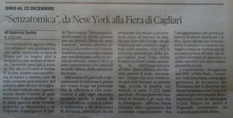 2013-12-06 La Nuova Sardegna