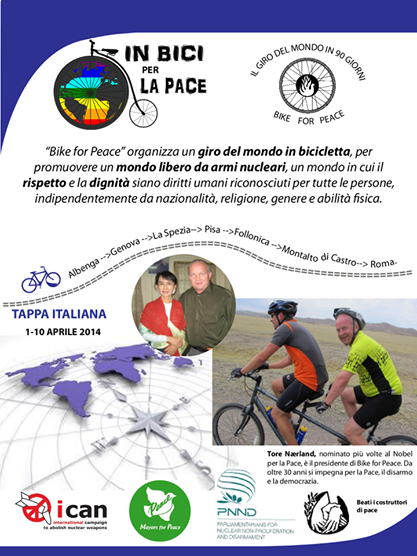 "Arriva ""Bike for Peace"""