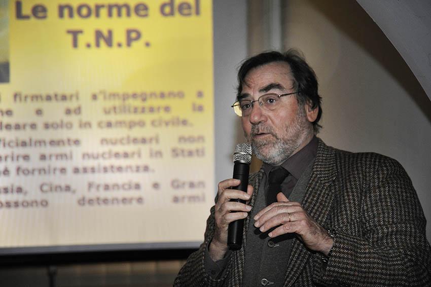 Maurizio Simoncelli - Storico, esperto di geopolitica e vicepresidente dell'Istituto ricerche internazionali Archivio Disarmo