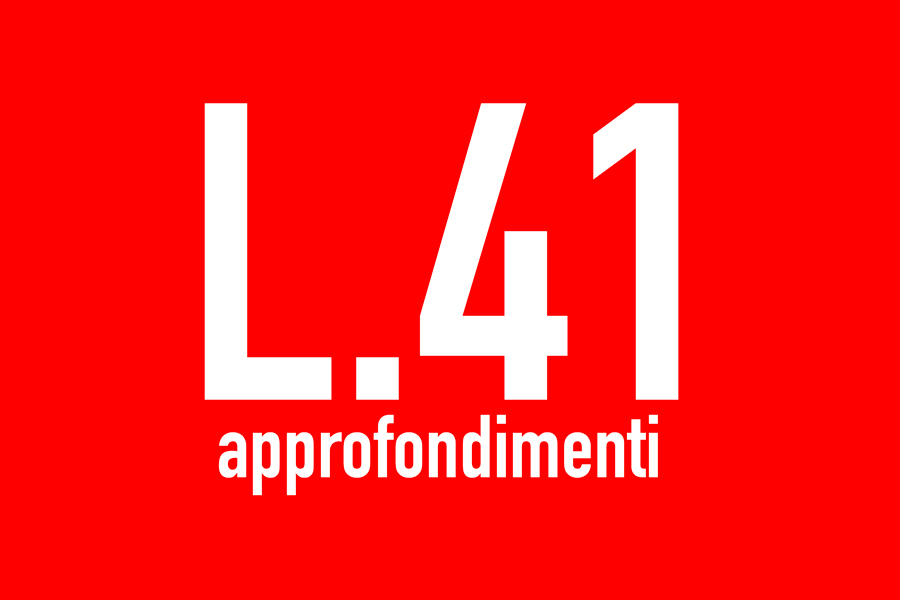 L.41 – la posizione dell'Italia