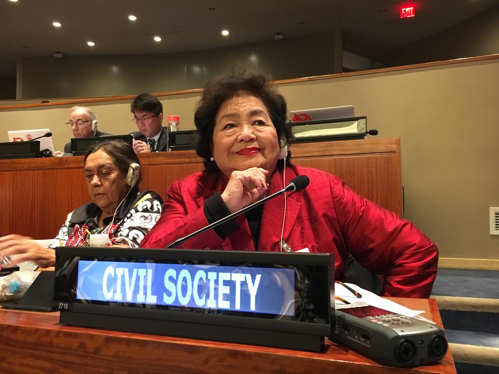 Setsuko Thurlow [SOCIETÀ CIVILE] dichiarazione @ONU