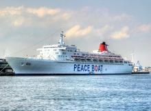 Peace Boat a Cagliari