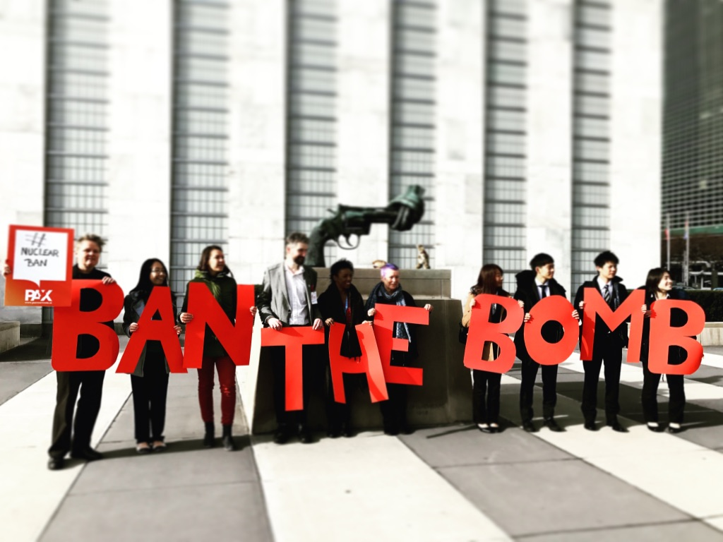 Pubblicata la bozza di Trattato per la messa al bando delle armi nucleari: più vicini a un risultato storico