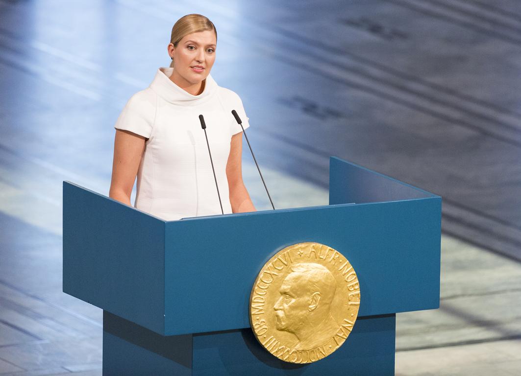 Il discorso di Beatrice Fihn al ricevimento del Nobel per la Pace