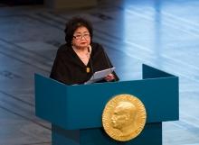 Il discorso di Setsuko Thurlow al ricevimento del Nobel per la Pace