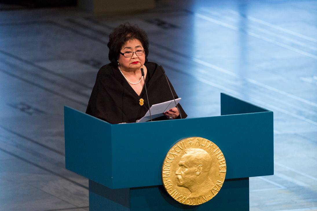 Dichiarazione di Setsuko Thurlow in occasione dell'entrata in vigore del TPNW 22 Gennaio 2021