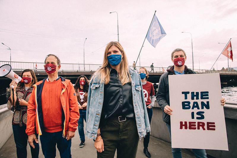Intervista a Beatrice Fihn, in occasione dell'entrata in vigore del TPNW